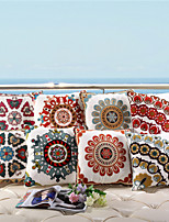 Baolisi Set of 8  Chinese Wind Wool Embroidered Pillow /South East Asian