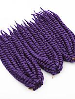 O cabelo sintético quente havana tranças torção jumbo 24inch tranças torção do crochet sintéticos cor diferente para sua escolha.