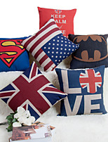 Baolisi Set of 6  British Series Decorative Pillow /Modern Fashion Couples
