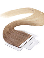 Neitsi 100% Tape in Human Hair Weft Extension Straight Skin Weft Hair 18 Inch