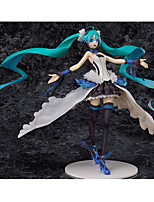 Vocaloid Hatsune Miku PVC One Size Anime Action Figures Model Toys 1pc 24.5cm