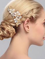 מסרקי שיער כיסוי ראש נשים חתונה / אירוע מיוחד / קז'ואל / משרד וקריירה / חוץ ריינסטון חתונה / אירוע מיוחד / קז'ואל / משרד וקריירה / חוץחלק