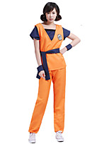 Cosplay Costumes-Dragon ball-Son Goku-Top / Calças / Cinto