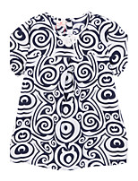 Girl's Dress,Cotton Summer Black