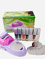 Nail Colors Machine(1PC Nail Printing Machine + 7PCS Polish + 6PCS Template)