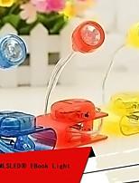 mlsled® pince créative lumière LED blanche lampe de table petit écran d'ordinateur de lumière de nuit domestique légère (couleurs