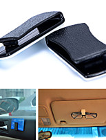 With the convenience of card holder / car hook free paste car glasses glasses card clip
