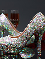 Women's Wedding Shoes Heels Heels Wedding / Party & Evening / Dress Silver