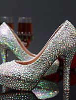 Zapatos de boda-Tacones-Tacones-Boda / Vestido / Fiesta y Noche-Plata-Mujer