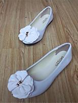 Women's Shoes Fleece Flat Heel Comfort Flats Outdoor / Casual Black / Blue / Pink / Red / White / Gray / Burgundy