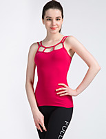 SMOEDOD®Yoga Tops Breathable / Quick Dry / Wearable High Elasticity Sports Wear Yoga Women's