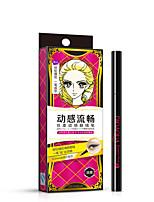 Eyeliner Liquide Humide Longue Durée / Séchage rapide Noir Yeux 1 1 Others