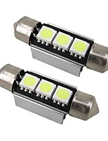 2PCS Camry Car 12V 3W 5050 3SMD Car LED Side Marker Light Car Door Lamp Car Reading Light, Car License Plate Light