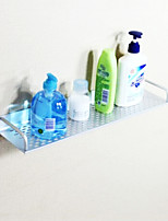 60cm Contemporary Space Aluminum Anodizing Wall Mounted Bathroom Shelf