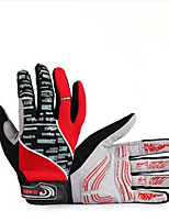Guantes Ciclismo/Bicicleta Hombres Dedos completosA prueba de resbalones / Mantiene abrigado / Resistencia al desgaste / Resistente a