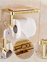 Porte Papier Toilette,Contemporain Laiton Antique Fixation Murale