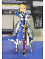 Animation Project Figma Fate Stay Night Saber Blue Saber Movable 1Pcs 15Cm