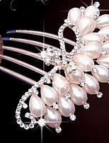מסרקי שיער / כלי לשיער כיסוי ראש נשים חתונה / אירוע מיוחד / קז'ואל דמוי פנינה חתונה / אירוע מיוחד / קז'ואל חלק 1
