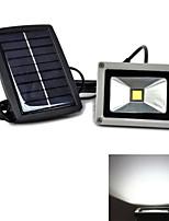 lámpara del paisaje del reflector solar hry® 3w 400lm de color blanco luz de seguridad al aire libre para césped y jardín