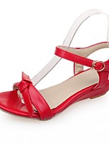 Women's Shoes Wedge Heel Wedges Sandals Party & Evening / Dress / Casual Black / Red / White / Beige