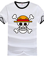 Disfraces Cosplay-One Piece- deMonkey D. Luffy-T-Shirt-