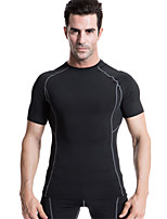 Men's Sports Training PRO Compression Tights Sport T-shirt Quick-drying Clothes Runing / Basktable