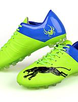 Chaussures Noir / Bleu / Jaune / Vert Similicuir Football Femme