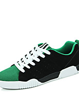 Men's Shoes Wedding / Party & Evening / Athletic / Casual Leather Fashion Sneakers Black / Green / Red