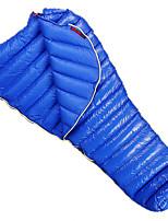 380g Goose Down Nylon Lining Single Rectangular Bag for Camping and Hiking