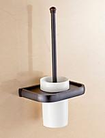 Soporte para Cepillo de Baño / Gadget para Baño,Neoclásico Latón Antiguo Montura en Pared