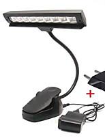 clip sur usb flexible 9 conduit musique livre lumineux lecture debout Lampe de camping