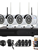 YanSe® Plug and Play Wireless NVR Kit P2P 960P HD Outdoor/Indoor IR Night Vision Security IP Camera WIFI CCTV System