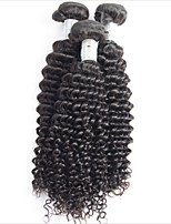Brazilian Deep Curly Virgin Hair 2 Pcs Lot  Brazilian Virgin Hair Deep Wave Human Hair Extensions Deep Wave Hair