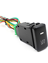 Foglight Width Light Modified light lamp ON/OFF Switch Button Stop for TOYOTA Cars CS-268