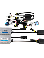 12V55W HID Ballast QSP One Second Headlight Bulb Retrofit Kit 881 3000K 4300K 5000K 6000 8000K