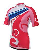 XINTOWN Women's Cycling Jersey Cycling Clothing Shirts Bike Tops