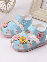 Baby Shoes Dress / Casual Leather Sandals Blue / Pink / White