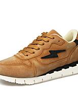 Men's Sneaker Shoes Suede Blue / Brown