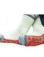 5 coppie di calze di cotone degli uomini dei calzini casuali di alta qualità per l'esecuzione di / yoga / fitness / calcio / golf