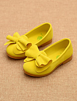 Girls' Shoes Party & Evening / Dress / Casual Comfort / Round Toe / Closed Toe Flats Yellow / Pink / Red