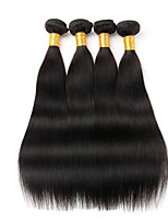 1PCS Peruvian Straight Hair Human Hair Weaves Natural Color 8-26 inch Virgin Hair