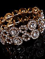 Bracelet Chaîne / Bracelet Rond Alliage Strass Femme
