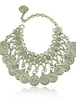 Women's Chain Bracelet Alloy Non Stone