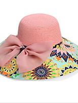 2016 Korea Fancy Bow Beach Hat