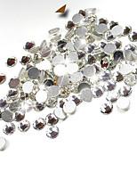 1000pcs/pack SS3 SS4 SS5 Crystal Nail Art Rhinestones Clear Top Quality Flatback Non Hotfix Nail Jewelry Decoration