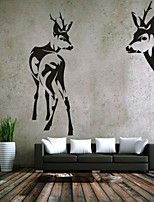 AYA™ DIY Wall Stickers Wall Decals, Elk PVC Wall Stickers