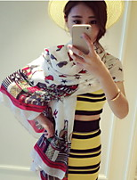 The Lovely Printed Wholesale Manufacturers In Europe And America Building Twill Cotton Shawl Scarves
