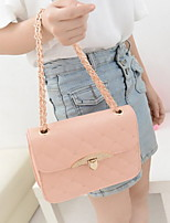 Fashion Women PU / Polyester Sling Bag Shoulder Bag / Tote-Multi-color