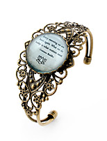 Lureme® Alloy / Silver Plated / Glass Bracelet Charm Bracelets / Bangles Party / Daily / Casual / Sports / N/A 1pc