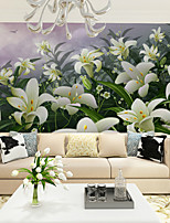 JAMMORY Art Deco Wallpaper Contemporary Wall Covering,Other Large Mural Wallpaper Lilies